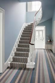 Designer Carpet For Stairs Margo Selby Stripe Surf Viking Joss Designer Striped Wool