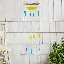 sea glass wind chime