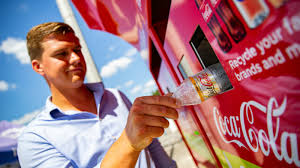 Reverse Vending Machine Uk Fascinating CocaCola Great Britain Pilots Reverse Vending Machines