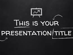 Chalkboard Ppt Theme Free Powerpoint Template Or Google Slides Theme With Blackboard Style