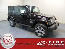 2018 jeep wrangler unlimited sahara 4x4 automatic 4 door suv
