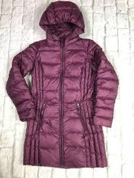 32 Degree Heat Womens Ultra Light Packable Hooded Down Puffer Jacket Size Xs