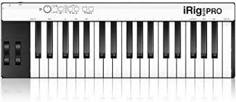 <b>IK Multimedia iRig Keys</b> Pro Mobile MIDI Keyboard with Full Size ...