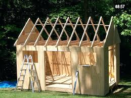 shed plans learn build easily designs diy free 8x10 3
