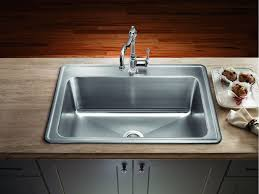 sinks stainless kitchen sink commercial stainless steel sinks large sink drop in kitchen with wooden