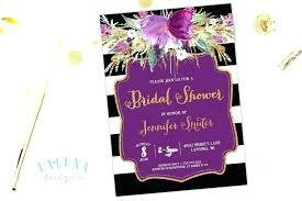 Black And Purple Invitations Purple Invitations Luxury And Black Wedding Or Amazing