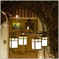 outdoor gazebo lighting chandelier garden oasis