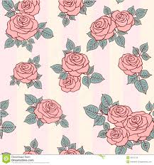 Rose Pattern Awesome Rose Pattern Stock Vector Illustration Of Paper Background 48