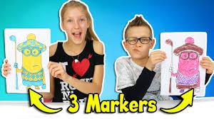 3 Marker Challenge Youtube