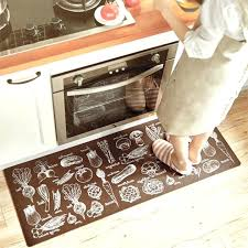 washable kitchen rugs brown non skid china photo 4x6