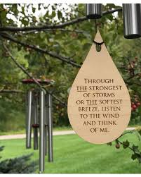 memorial wind chimes mother. Modren Chimes Loss Of Life Memorial Wind Chime 26 Inch Grieving Gift  Custom After Intended Chimes Mother E