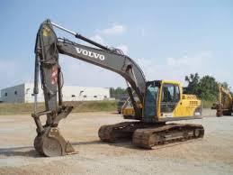 volvo ec210b lc hydraulic excavator