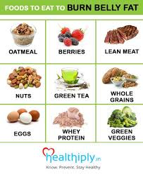 Diet Chart For Belly Fat