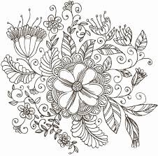 Flower Pattern Drawing