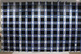 office room diy decoration blue. Checkered Gingham Wall Black White Wallpaper Diy Tutorial Spring Decor Design Trends Home Office Pink Desk Feminine Pinterest Shop Room Ideas Decoration Blue