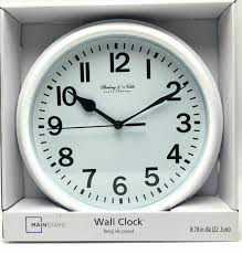 sterling noble clock company website with wall clocks jet black round glass wall clock london clock