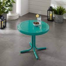 metal side table patio furniture deals