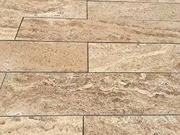 8u0026quot; X 48u0026quot; Mocha Travertine Planks Tile ...