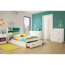 South Shore Bedroom Furniture South Shore Little Monsters Twin Platform Customizable Bedroom Set