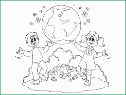 Printable Coloring Pages For Preschoolers Pleasant Earth Day