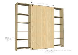 Diy Barn Doors Ana White Sliding Door Cabinet For Tv Diy Projects