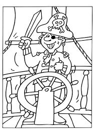 Kleurplaat Piraat Afb 6534 Images
