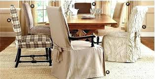 dining room table chair covers amazing slipcovers with arms without ro