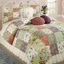 Blooming Prairie Cotton Patchwork Quilt Set Bedding & Blooming Prairie Quilt Multi Cool Adamdwight.com
