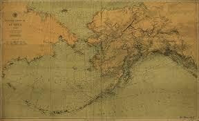 Southeast Alaska Nautical Charts Amazon Com Vintography 18 X 24 Canvas 1890 Us Old Nautical