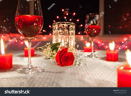 Candle Light Dinner Hd Images Lovely Romantic Candle Light Dinner Focus Stock Photo Edit