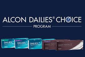 dailies choice rebate program for daily contact lenses