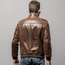 men s pigskin motorcycle real leather jacket padding cotton winter warm coat male genuine leather jacket my blog