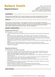 Surgical Nurse Resume Registered Nurse Resume Samples Qwikresume