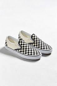 vans checkerboard. slide view: 2: vans classic checkerboard slip-on sneaker e