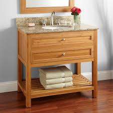 Bamboo Bathroom Sink 36 Thayer Bamboo Vanity For Undermount Sink Bathroom