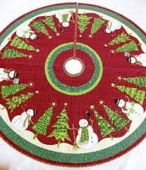 185 best Christmas Tree Skirts images on Pinterest | Natal ... & Christmas Tree Skirt Whimsical Quilted Snowman by SallyManke, $129.00 Adamdwight.com