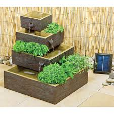 Beautiful Solar Powered Garden Fountains  Honest ReviewzSolar Garden Fountain