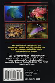 Australian Reef Fish Species Chart Reef Fish Identification Amazon Co Uk Paul Humann