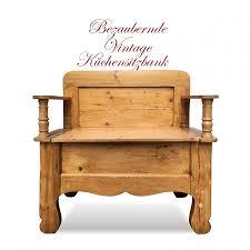 Kleine Alte Sitztruhe Küchenbank Sitzbank Landhausstil
