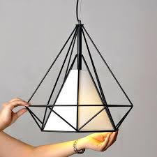 vintage retro industrial loft metal ceiling cage light pendant lamp shade all products black black and gold cage pendant light e concrete shade