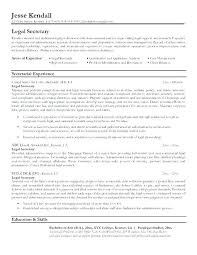Secretary Resume Templates Interesting Executive Secretary Sample Resume Dewdrops