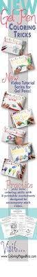 In this article we look at the best 5 gel pens for coloring. Gel Pen Coloring Series
