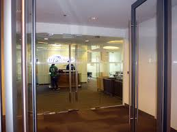 office backdrop. Glass Doors And Backdrop For Office Lobby R
