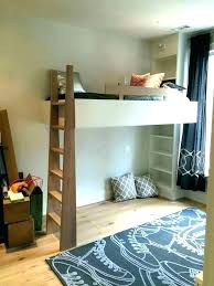 hanging loft bed suspended ideas com plans picture