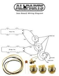 new jazz bass pots wire amp wiring kit for fender jazz bass image is loading new jazz bass pots wire amp wiring kit