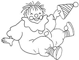 Disegno Di Pagliaccio Da Colorare Per Bambini