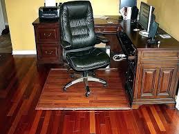 desk glass chair mat office canada floor protector mats wood fl