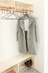 Coat Rack Solutions Make Way For Fall Clothes Wardrobe Storage Solutions To DIY 62