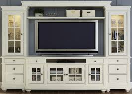 harbor view linen entertainment wall unit with  tv console from