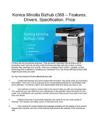 Find everything from driver to manuals of all of our bizhub or accurio products. Driver For Minolta Bizhub 250 Konica Minolta Bizhub C250 Printer Driver Download Konica Minolta Will Send You Information On News Offers And Industry Insights